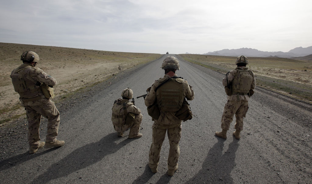 Nato withdrawal from Afghanistan