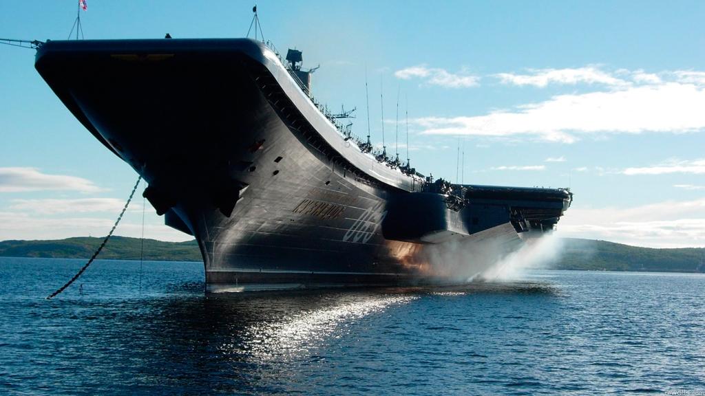 Rússia precisa de novos porta-aviões