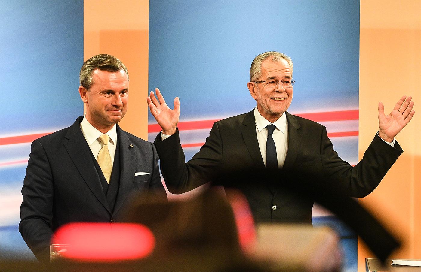 ВАвстрии официально объявили победителя президентских выборов