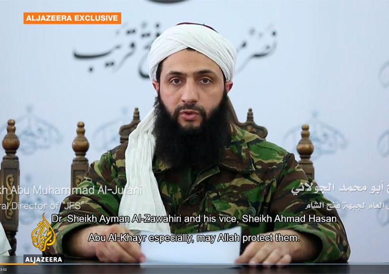 К вопросу о «Джабхат Фатх аш-Шам»: интервью Абу Мухаммада аль-Джулани