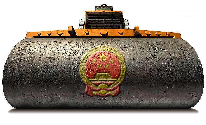 China – Principal potência comercial, superando os Estados Unidos
