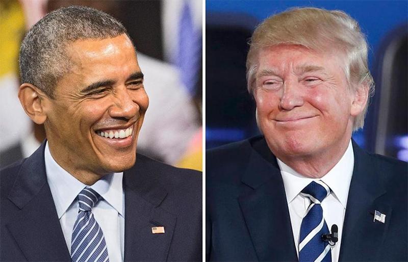 Барак Обама и Дональд Трамп, или как не просто передать бразды правления