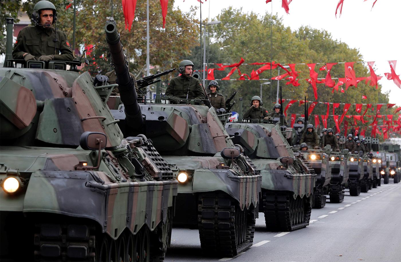 Анализ современных вооружений Турецкой Республики  на примере Сухопутных войск государства