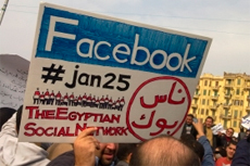 Did social media play a helpful role in the Arab Spring?
