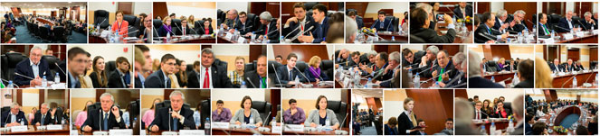 Helsinki+40: Members of OSCE PA Delegation at MGIMO-University