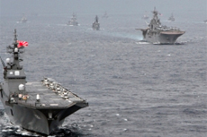 Naval Buildup to Cure the Crisis: Japan