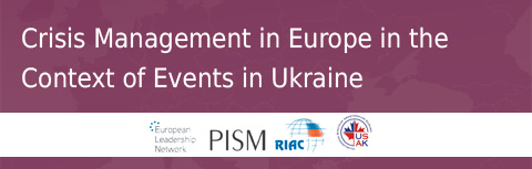 Crisis Management in Europe in the Context of Events in Ukraine