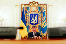 Pyotr Poroshenko�s four problems