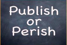 PUBLISH OR PERISH?