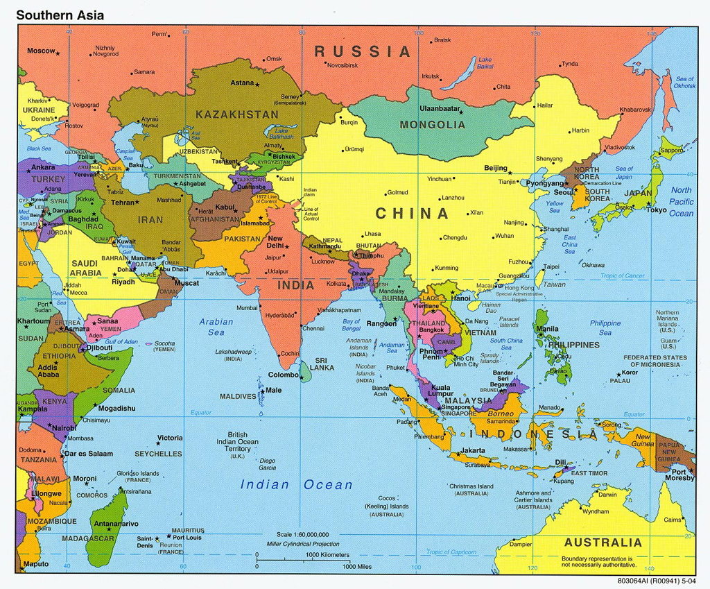 Riac The Future Political Map Of East Asia