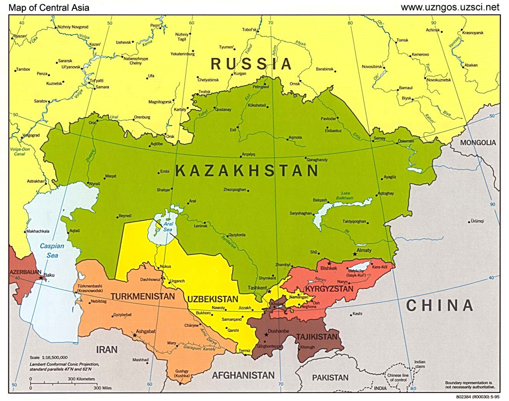 Riac five scenarios for the future borders of central asia mobile borders in central asia gumiabroncs Images