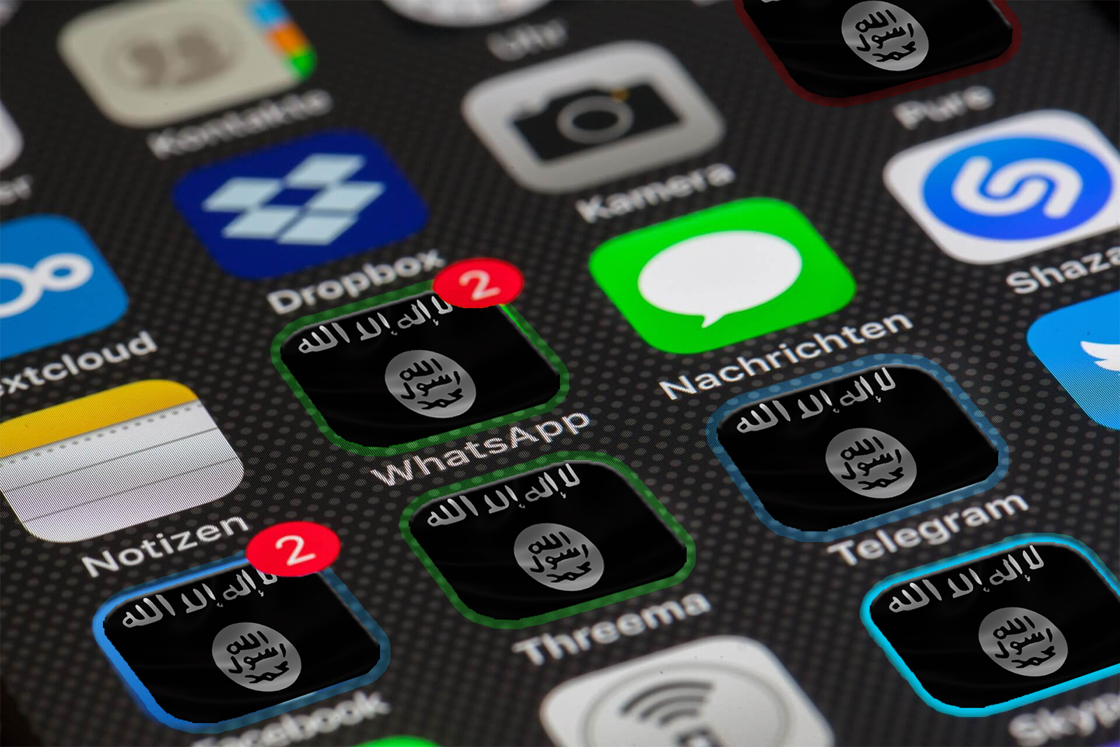 RIAC :: Cyber Caliphate: What Apps Are the Islamic State Using?