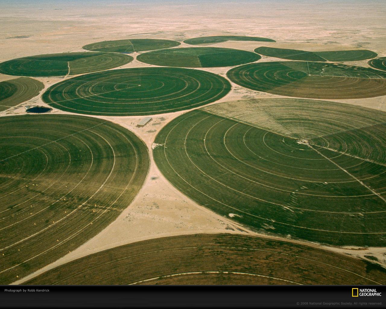 development of national irrigation