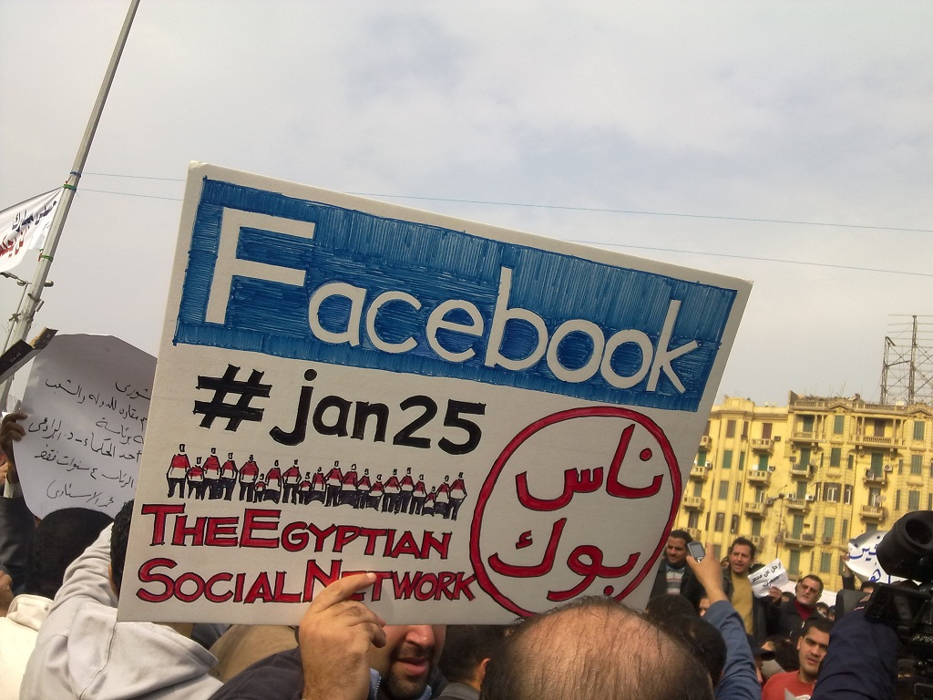 social media revolution in egypt Social media is a powerful communication tool, but it has little to do with any revolution at best, it's a lagging indicator that because of the speed of communication, allows disparate groups of people to connect faster than a government can re.