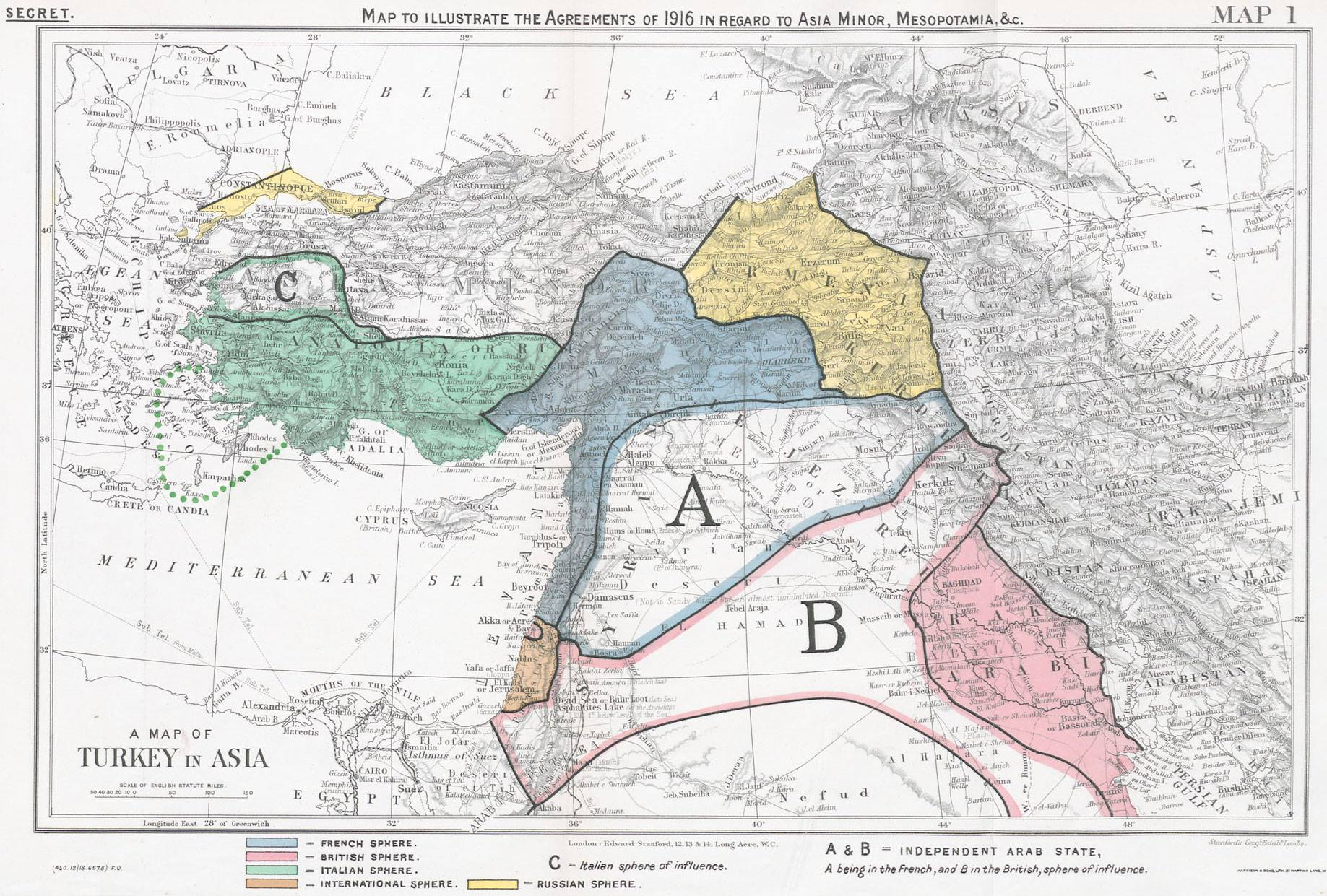 Riac The Sykes Picot Agreement And Russia