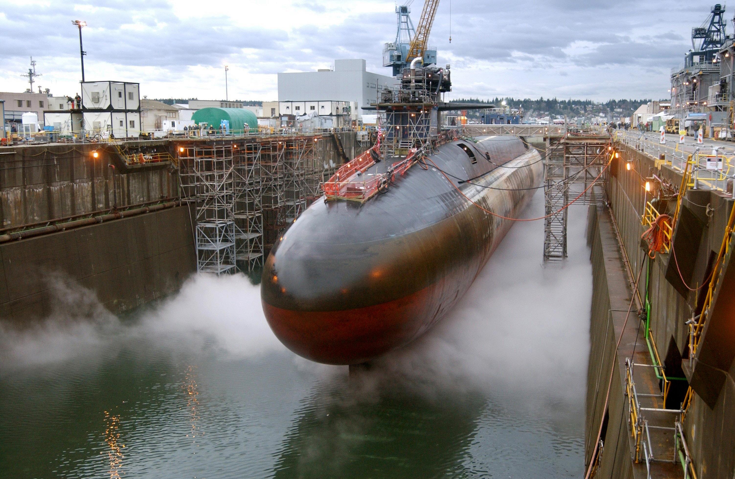 фото американских атомных подводных лодок